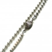 schelp detail big ball chain ketting
